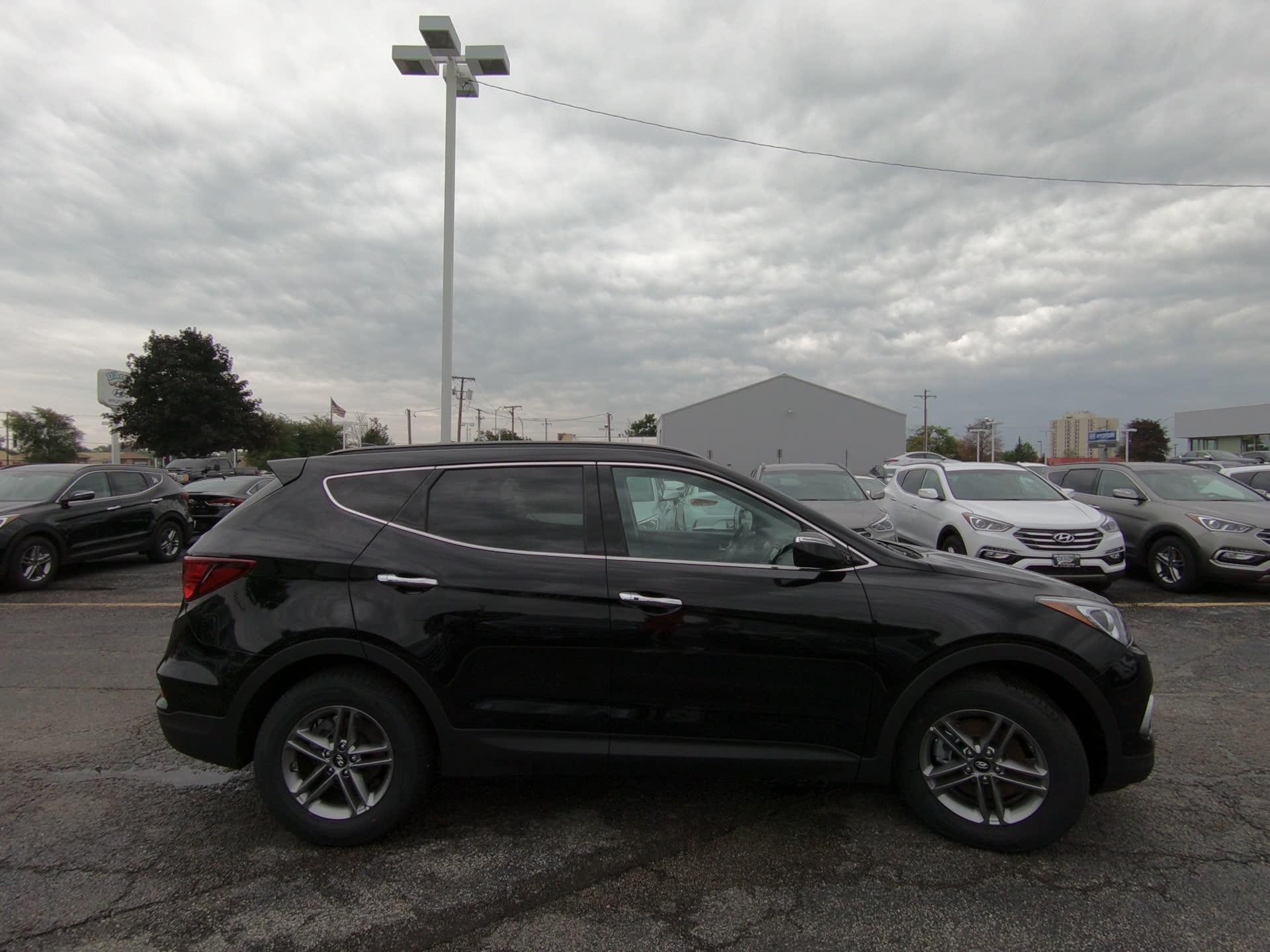 2018 Hyundai Santa Fe Sport 24l Twilight Black 4dr Suv A At Darcy Joliet Il